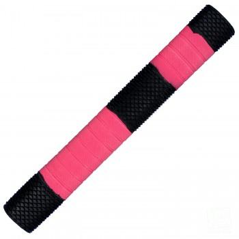 Black / Neon Pink Penta Cricket Bat Grip