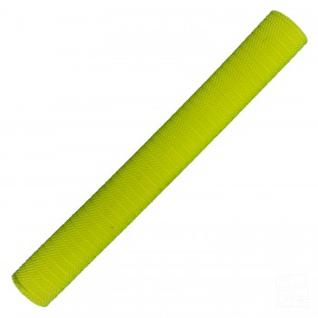Neon / Fluoro Yellow Pyramid Cricket Bat Grip