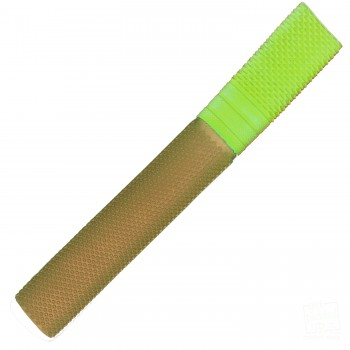 Gold and Neon Yellow Trio Cricket Bat Grip