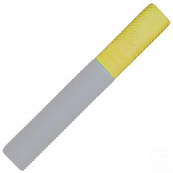White and Yellow Trio Cricket Bat Grip