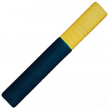 Black and Yellow Trio Cricket Bat Grip