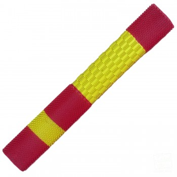 Yellow / Red Duo Cricket Bat Grip