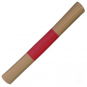 Gold / Red Aqua Wave Cricket Bat Grip