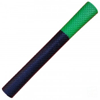 Black / Lime Green Scale Cricket Bat Grip