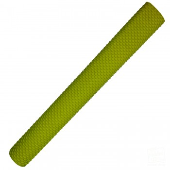 Neon Yellow Scale Cricket Bat Grip