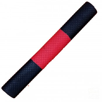 Black / Red / Black Scale Cricket Bat Grip