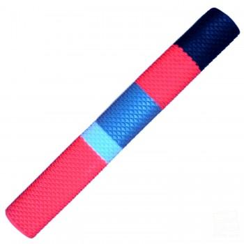 Red, White, Silver, Black Scale Cricket Bat Grip