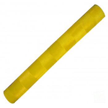 Yellow Chevron Cricket Bat Grip
