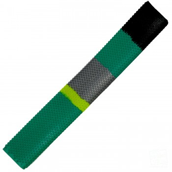 Green, Black, Silver, Yellow Octopus Cricket Bat Grip