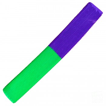 Lime Green / Purple Octopus Cricket Bat Grip